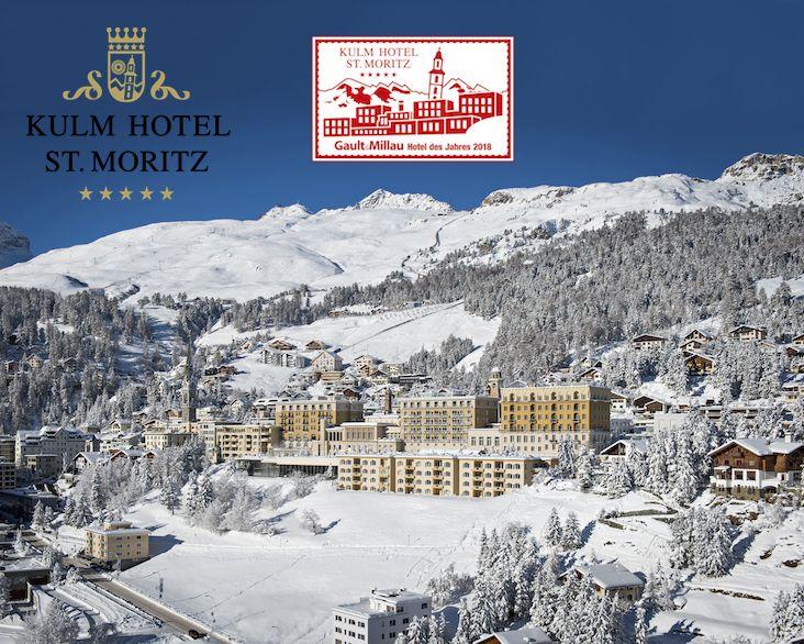 Job / Stellenangebot von Kulm Hotel St. Moritz *****S als Front ...